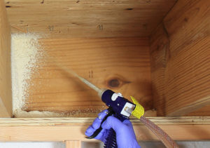 DIY Spray Foam Insulation Installation